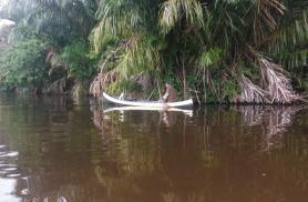 Varahommikused kalurid Tortuguero kanali peal