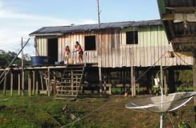 Tüüpiline elamu Amatsoonases