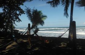 Lõunane puhkepaus Kariibi mere rannikul Tortugueros