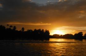 Päikesetõus Tortugueros