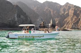 Kapten Suleimaniga merel Omaan 2012