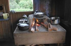 Nii valmis meie õhtusöök guaymede juures