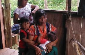 Meid võõrustav guayme perekond