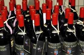 Meie lemmikveinimõisa veiniriiul Toskaanas 2008