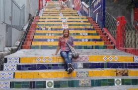 Kuulus Selaroni trepp Rio de Janeiros